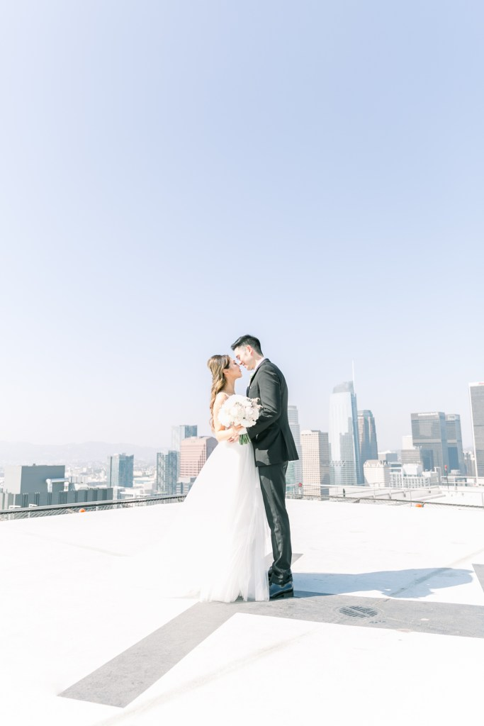 AT&T Park Los Angeles Wedding Photographer- Stephanieweberphotography.com