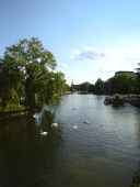 Picturesque view of the river Avon