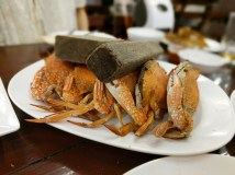 Pattaya City (PuPen Seafood): fresh crabs