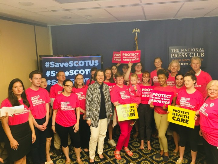 #SaveSCOTUS and the people protecting Roe