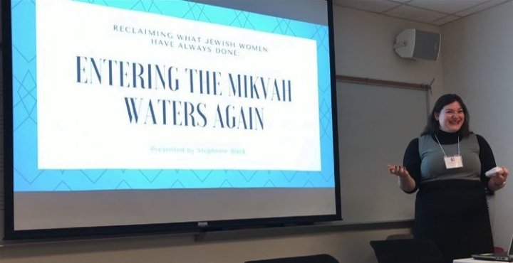 Entering the Waters Again: A research presentation on the mikvah