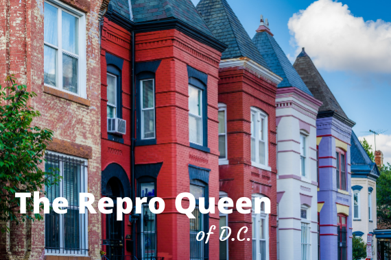 Introducing: The Repro Queen of DC, my new newsletter
