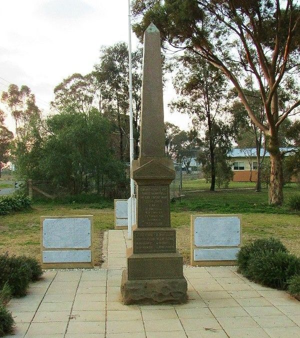 Illabo War Memorial to be revitalised as more opportunities open for remembrance