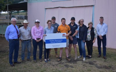 Construction begins on new facilities at Harden Racecourse