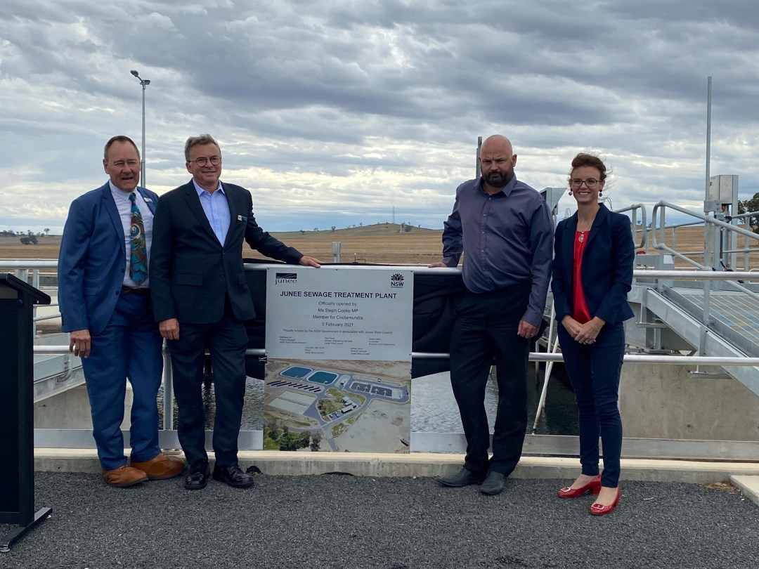 Junee Sewerage Treatment Plant Open