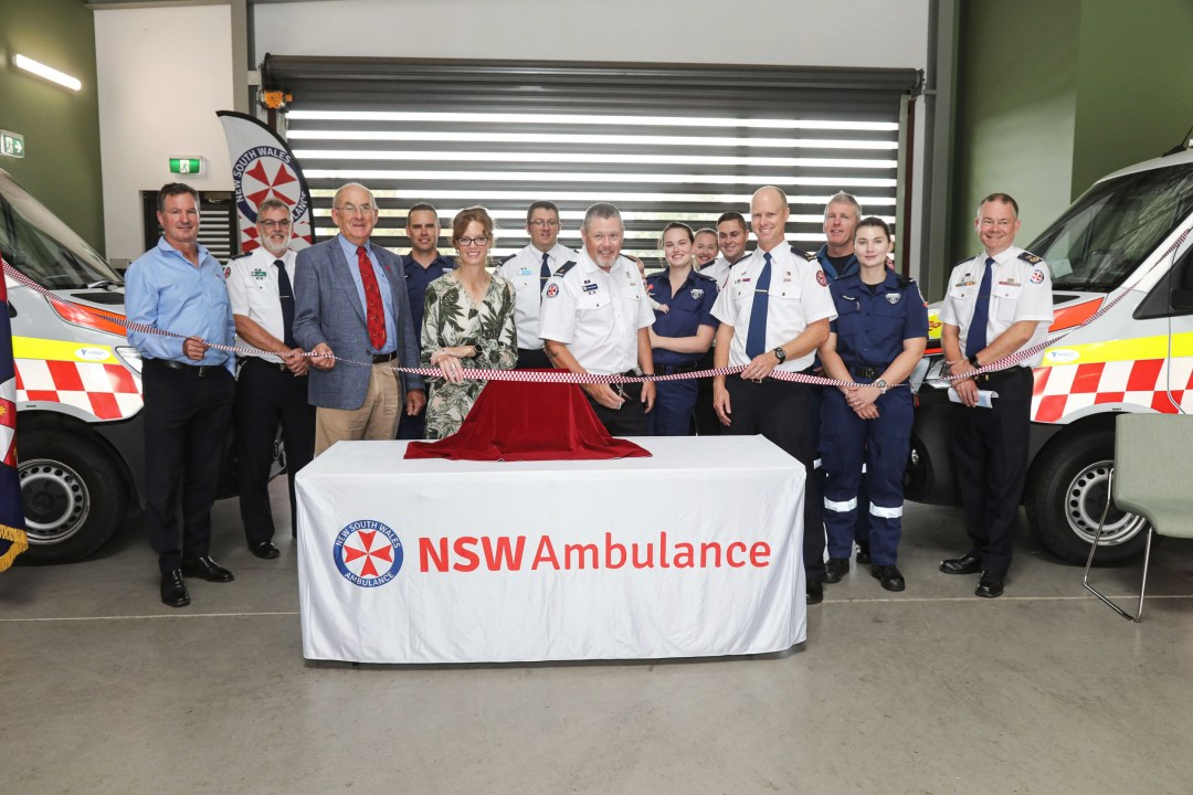 Cowra Ambulance Station Officially Open