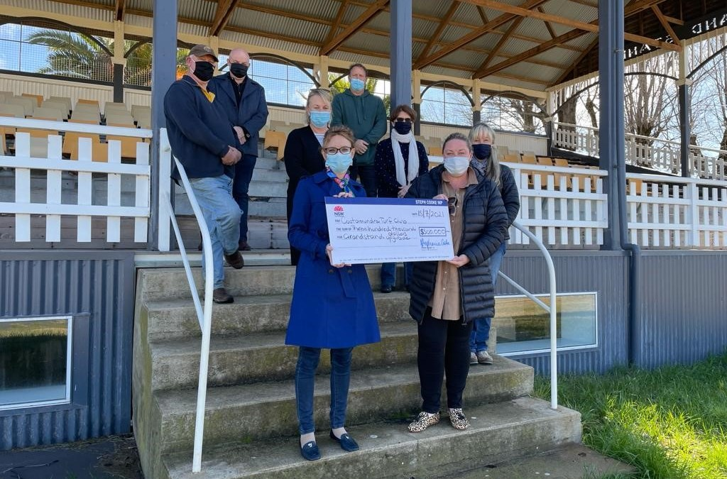 Funding Boost for Cootamundra Racecourse Grandstand