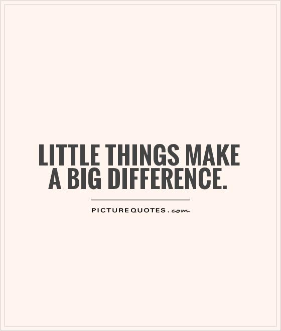 little-things-make-a-big-difference-quote-1