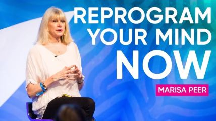 Marisa Peer can change your life very quickly. RTT, rapid transformational therapy. Voted No.1 therapist in UK . by Stephen Allerton blogger.