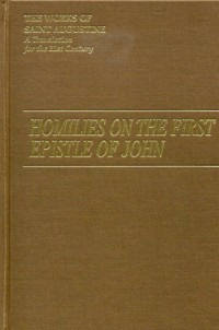 The Cover of Augustine's Homilies on the First Epistle of John