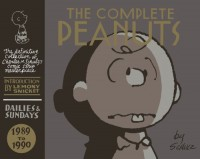 The cover of Schultz's The Complete Peanuts 1989 to 1990