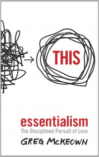 The cover of McKeown's Essentialism