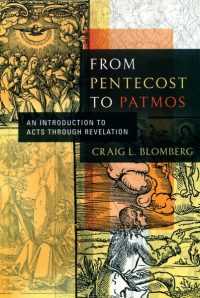The cover of Blomberg's From Pentecost to Patmos
