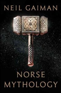 The cover of Gaiman's Norse Mythology