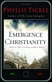 The cover of Phyllis Ticke's Emergence Christianity
