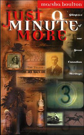 The cover of Boulton's Just a Minute More