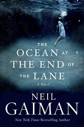 Gaiman's Ocean at the End of the Lane cover