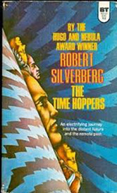 The cover of Silverberg's The Time Hoppers
