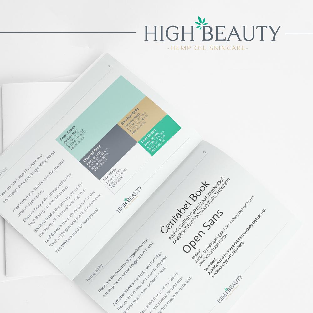 High Beauty Branding Guidelines