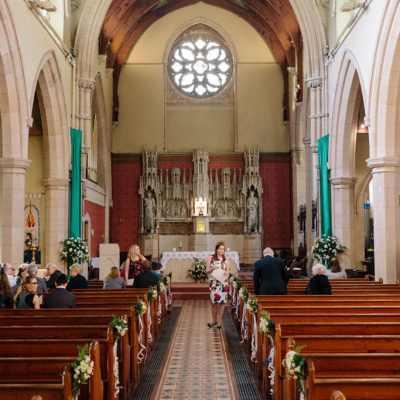 Norfolk wedding photographer – wedding church