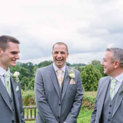 Norfolk wedding photographer – groom and groomsmen