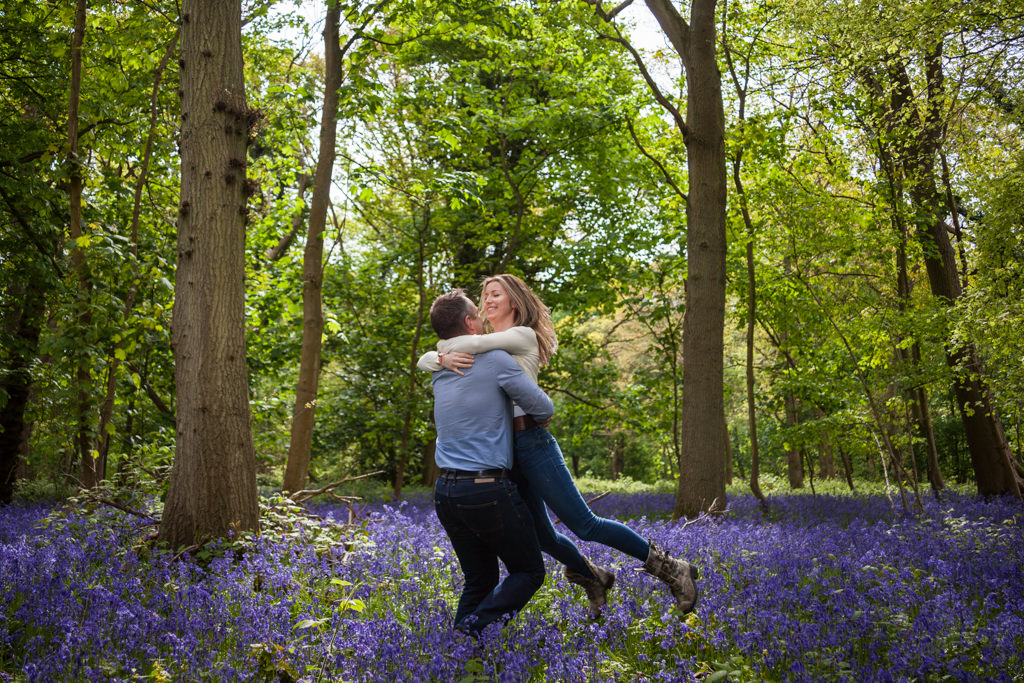 Norfolk wedding photographer slideshow bluebells