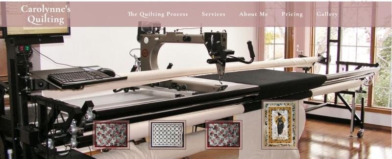 Carolynne's New Website