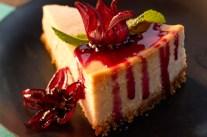 sorrel cheesecake
