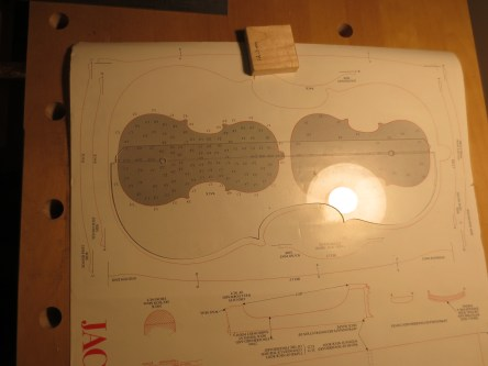 Template and The Strad poster