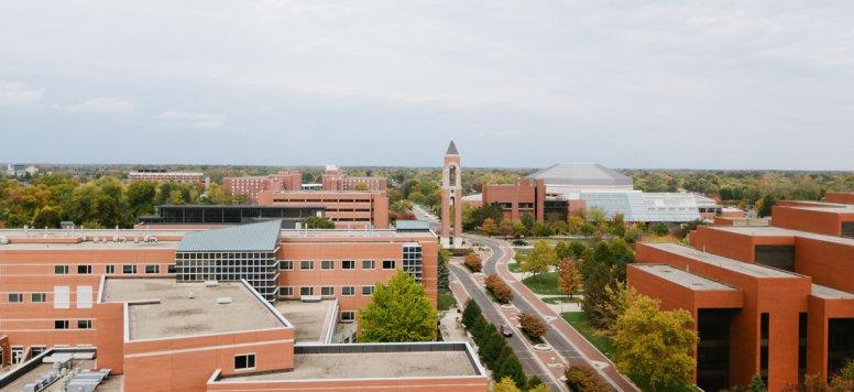 Shafer Tower - BSU campus