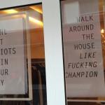 Berlin shop window wisdom