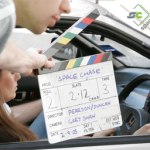 Space Chase clapperboard