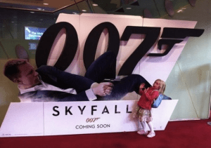 007 standee