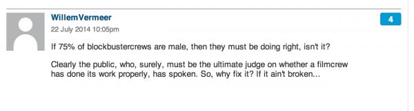 Guardian gender in film comment