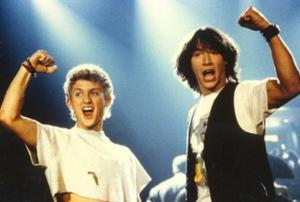 Bill and Ted is one of many films lined up to be Hollywood remakes