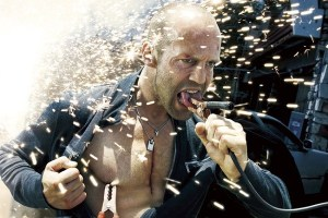 Jason Statham in action movie Crank