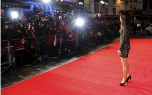 London Film Festival red carpet