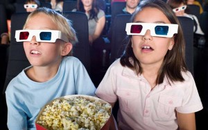 kids at cinema