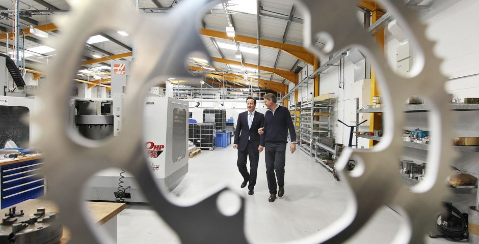 Prime Minster visits Hope Technology