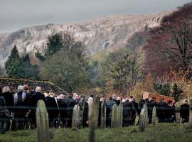 Burial of a hero