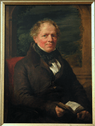 Portrait of Thomas Hill, Esq., by John Linnell