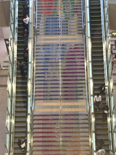 Staircase in Osaka Station
