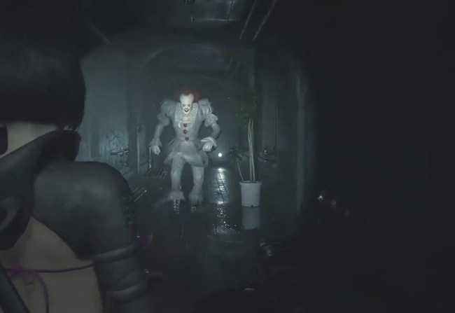 Pennywise invade Resident Evil
