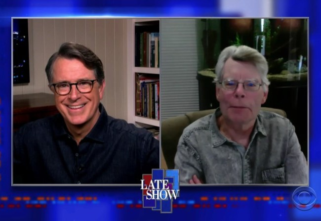 King con Stephen Colbert