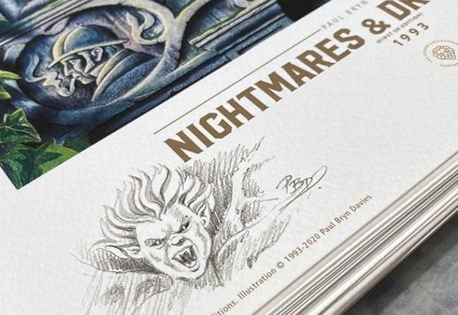 Suntup Press anuncia «Nightmares and Dreamscapess», de Paul Bryn Davies