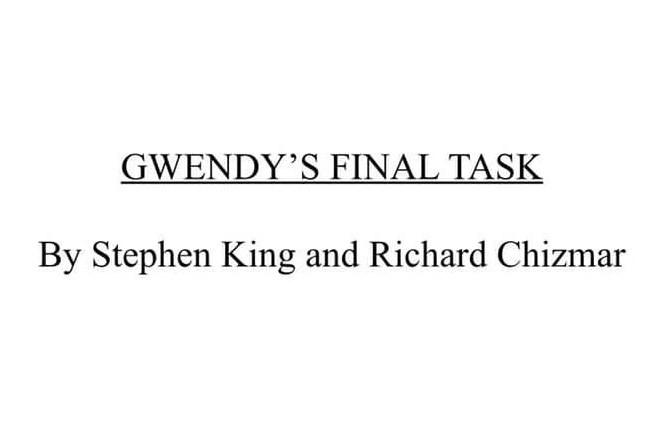 Gwendy: Habrá un tercer libro