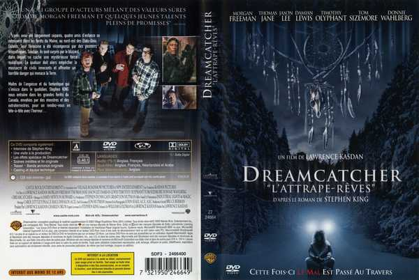 Jacquette DVD du film Dreamcatcher