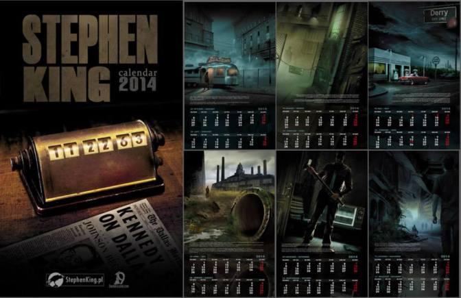 calendrier-stephenking-2014-darek-kocurek