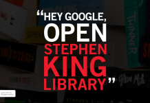 google stephen king library