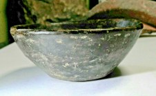 N004 - Neolithic Stone Age Ceramic Bowl (French Find)
